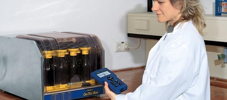 Equipos de  laboratorio para el analisis de la calidad de agua