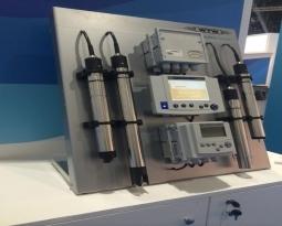 Sensores para agua en una planta de tratamiento de aguas servidas
